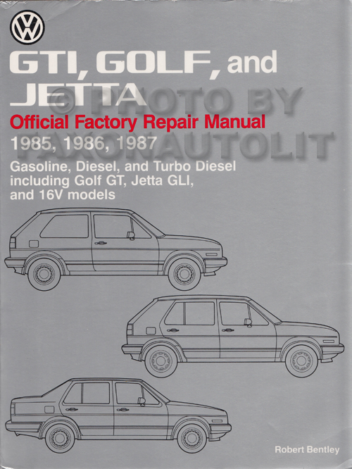 1985 1987 vw gti golf and jetta bentley repair shop manual rh faxonautoliterature com vw golf mk1 bentley manual vw golf mk1 bentley manual