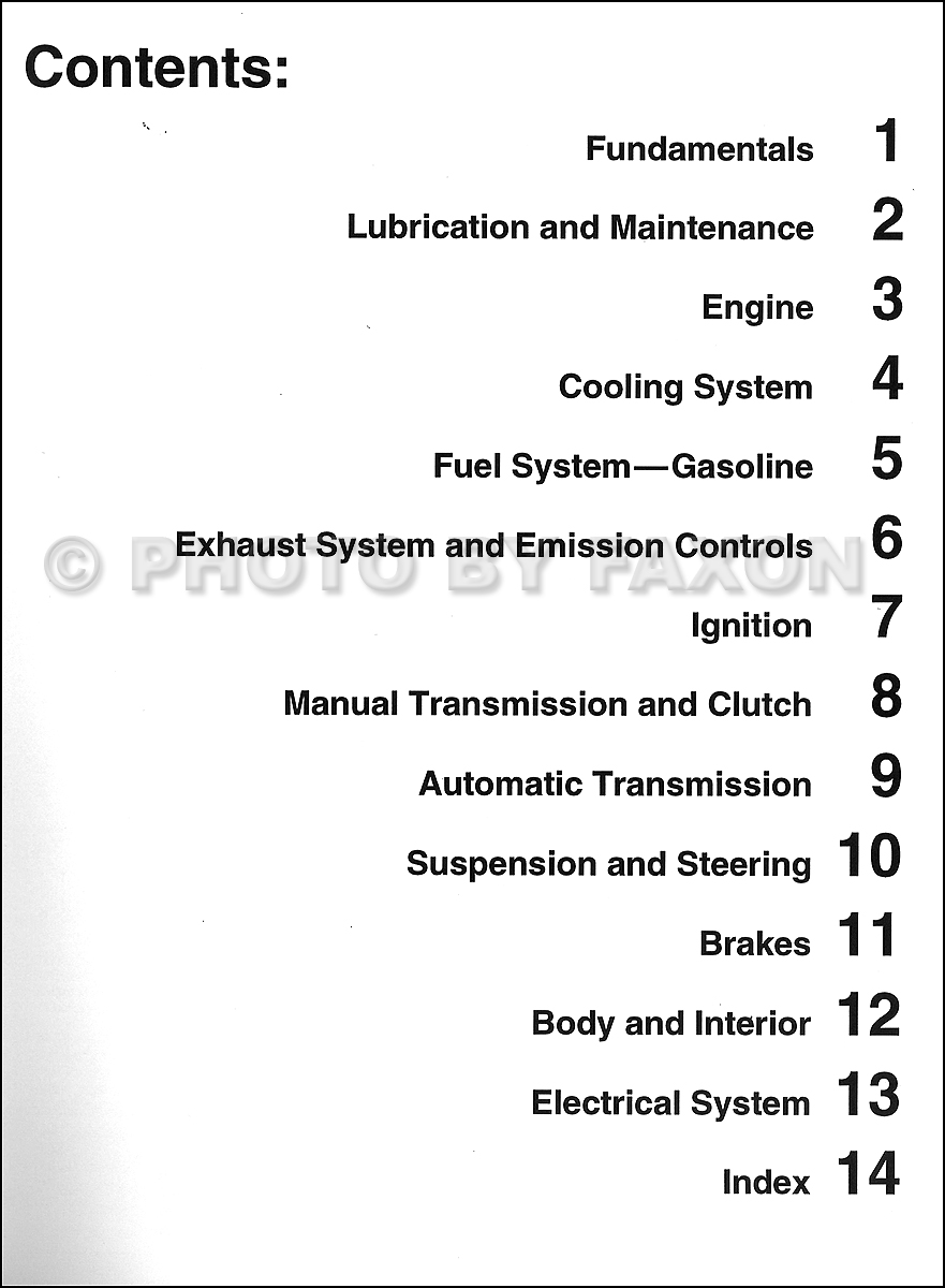 1985 Vw Cabriolet Wiring Diagram Fusebox Faq And Bentley Fuse Box Scirocco Repair Shop Manual Table Of Contents