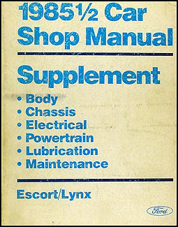 1985 5 ford escort mercury lynx electrical troubleshooting manual on ford lynx wiring diagram 1975 Ford Wiring Diagram Mammoth Wiring Diagram