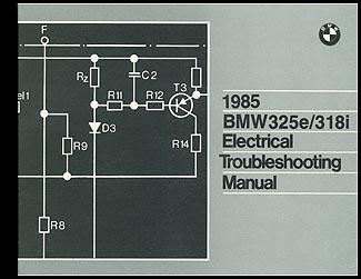 1985 bmw 325e 318i electrical troubleshooting manual. Black Bedroom Furniture Sets. Home Design Ideas