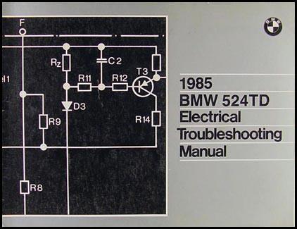 1985 bmw 524td electrical troubleshooting manual. Black Bedroom Furniture Sets. Home Design Ideas