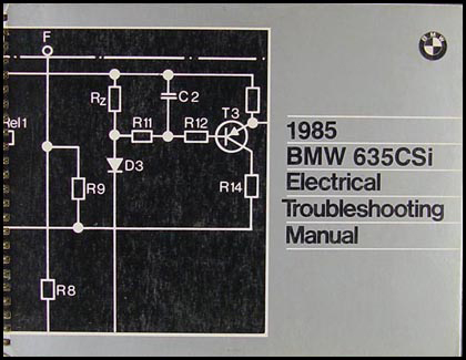 Terrific 1985 Bmw 635Csi Electrical Troubleshooting Manual Wiring Digital Resources Minagakbiperorg