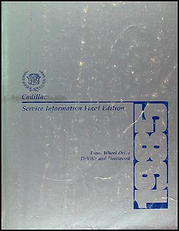 1985 cadillac deville and fleetwood fwd diesel foldout wiring 1985 cadillac deville fleetwood repair shop manual original
