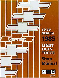 chevy gmc forward control wiring diagram original stepvan 1985 chevy truck repair shop manual original pickup blazer suburban van fc