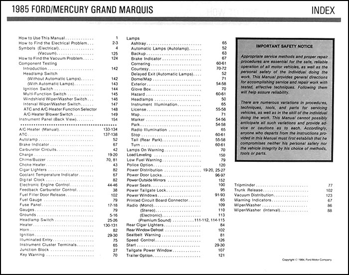 mercury marquis wiring diagram car wiring diagram download Mercury Grand Marquis Radio Wiring Diagram 1985 crown victoria grand marquis electrical troubleshooting manual mercury marquis wiring diagram mercury marquis wiring diagram 71 mercury grand marquis radio wiring diagram