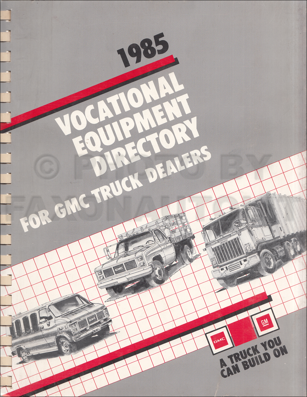 chevy gmc forward control wiring diagram original stepvan 1985 gmc truck vocational equipment dealer album original 149 00