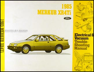 1988 merkur xr4ti wiring diagram car repair manual wiring