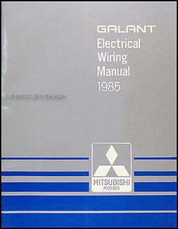 1985 mitsubishi galant wiring diagram manual original. Black Bedroom Furniture Sets. Home Design Ideas