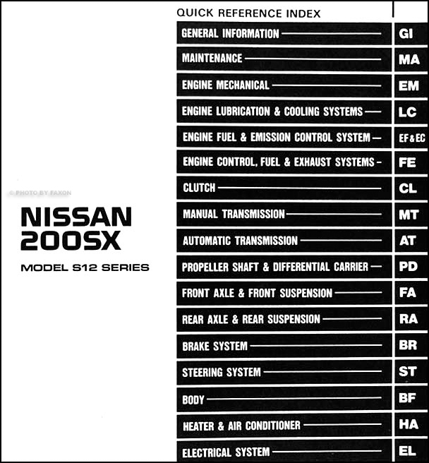 2001 nissan sentra ignition wiring diagram images wiring diagram for 1985 nissan 200sx wiring engine diagram