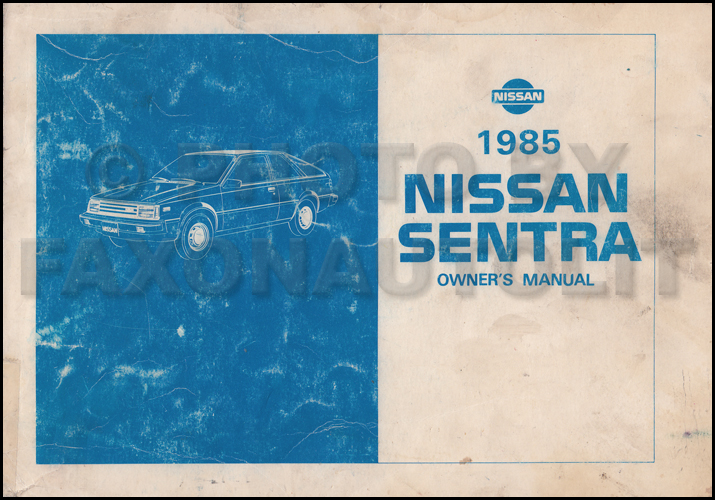 nissan sentra 2017 owners manual