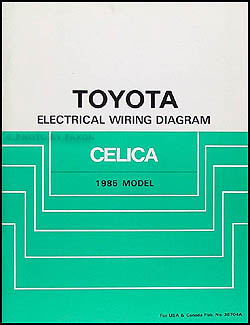 Sensational 1985 Toyota Celica Wiring Diagram Manual Original Wiring Cloud Hisonuggs Outletorg