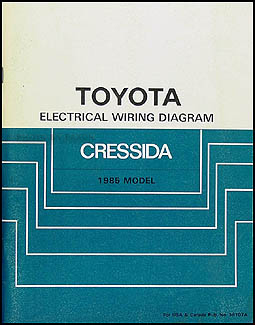 1985 toyota cressida wiring diagram manual original rh faxonautoliterature com 1985 toyota mr2 wiring diagram 1985 toyota wiring diagram