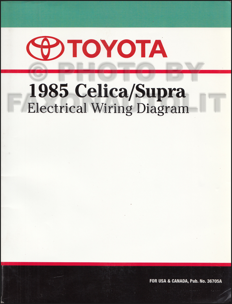 1985ToyotaSupraRWD 1985 toyota celica supra wiring diagram manual original 1987 toyota supra wiring diagram at virtualis.co