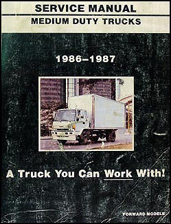 1987 gmc medium duty truck repair shop manual original 4000 7000 1969 gmc truck wiring diagram 1987 gmc medium duty truck wiring diagram #44
