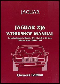 1986 1994 jaguar xj6 do it yourself repair shop manual 1986 1994 jaguar xj6 do it yourself repair manual solutioingenieria Choice Image