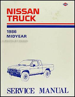 nissan 720 service manuals shop owner maintenance and repair 1986 5 nissan truck repair manual original