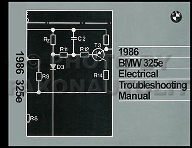 1986 BMW 325e Electrical Troubleshooting Manual