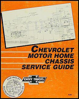 1986    Chevy    GMC Forward Control    Wiring       Diagram    Original Stepvan    Motorhome    P20    P30    P2500 P3500