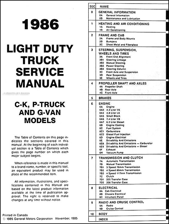 wiring diagram 1980 chevy c30 pick up