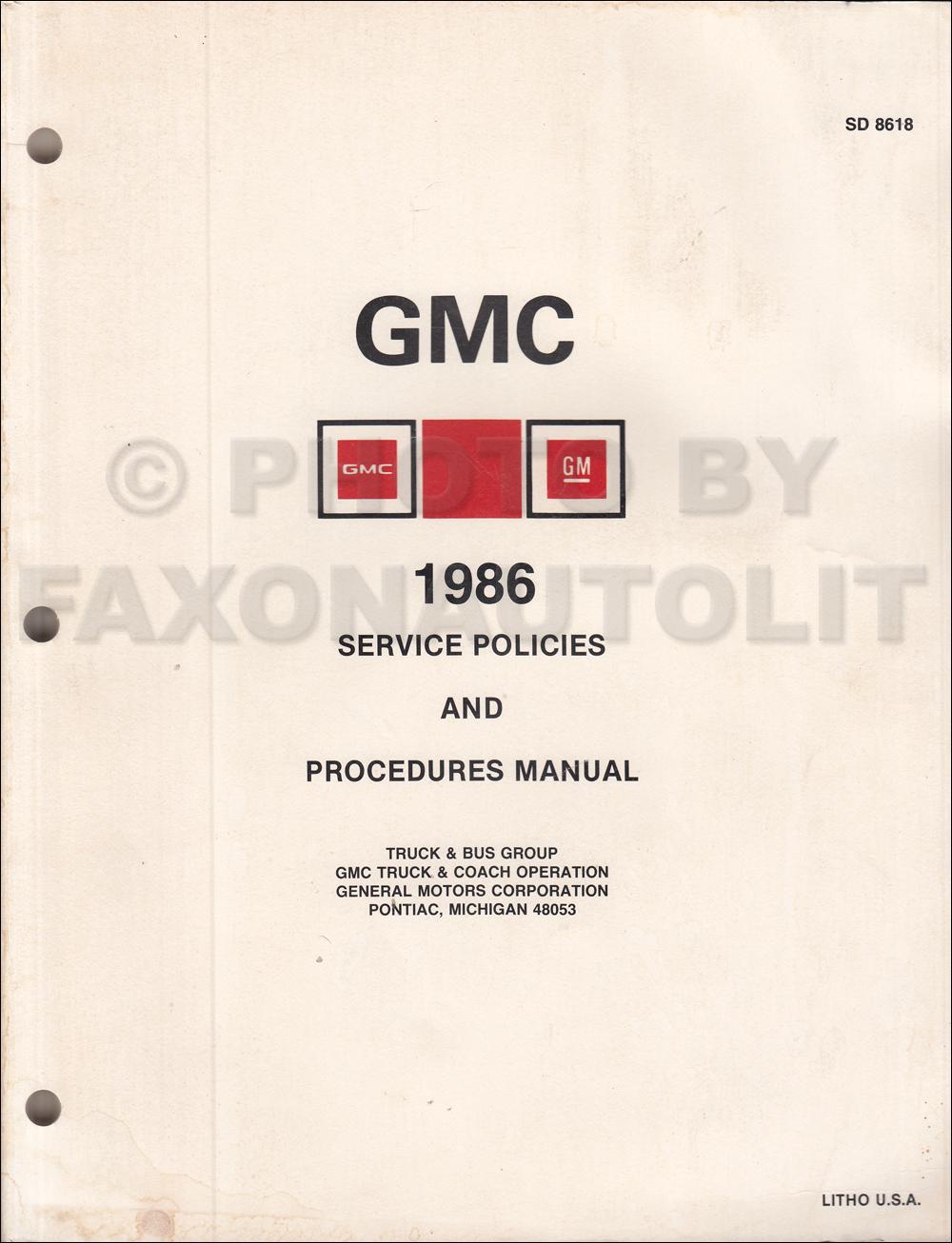 1986 Gmc S15 Chevy S10 Wiring Diagram Original Pickup