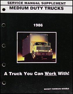 1986 chevrolet and gmc medium duty c50 c60 c70 gas wiring diagram 1986 gmc medium duty truck repair shop manual supplement 4000 7000