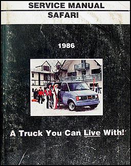 1986    GMC 12  34    1 ton Truck Overhaul Manual Original