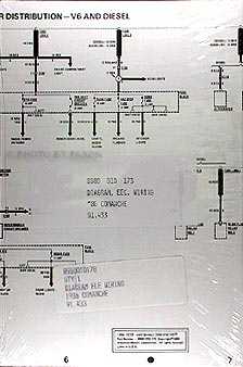 1986JeepComancheElectricalDiag 1986 jeep comanche wiring diagram set nos 1988 jeep comanche wiring diagram at mifinder.co