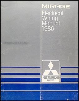1986 mitsubishi mirage wiring diagram manual original. Black Bedroom Furniture Sets. Home Design Ideas