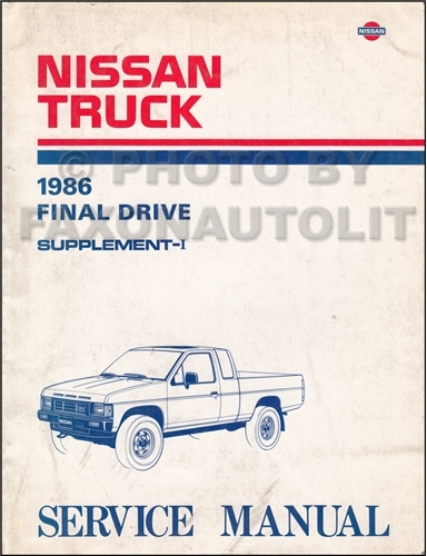 1986NissanD21TruckORMS 1986 5 nissan hardbody truck owner's manual original d21 model 89 Nissan Hardbody at creativeand.co