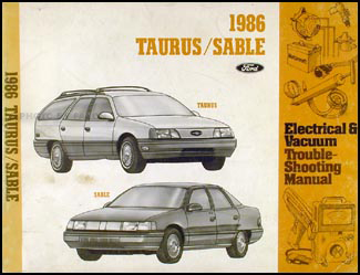 1986 ford taurus mercury sable electrical troubleshooting manual rh faxonautoliterature com 1995 ford taurus sho manual transmission for sale 1995 ford taurus sho manual transmission