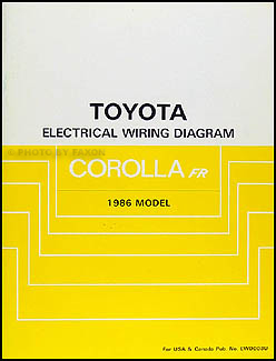 1986ToyotaCorollaFRWD 1986 toyota corolla rwd wiring diagram manual original gt s sr5 1986 toyota wiring diagram at alyssarenee.co