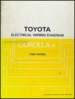 1986 Toyota Corolla FWD Wiring Diagram Manual Original DLX LE on 1984 subaru ignition diagram, 1986 toyota ignition diagram, 1986 toyota main fuse, 1986 sierra pickup electrical diagram, 1985 toyota pickup engine diagram, 1986 toyota fuse box diagram, 1986 toyota oil cooler, 1986 toyota carburetor diagram, 1986 toyota alternator wiring, 1994 toyota pickup engine diagram, 1986 toyota fuel pump, 1986 toyota exhaust diagram, 1986 toyota sr5 22re, 1986 toyota parts diagram, toyota pickup fuse diagram, 1986 toyota engine diagram,
