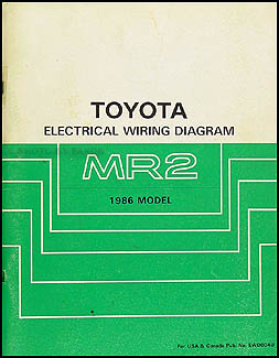 1986 toyota mr2 wiring diagram manual original rh faxonautoliterature com 1991 toyota mr2 turbo wiring diagram 1991 mr2 stereo wiring diagram