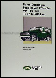1991 1994 land rover defender owners manual handbook reprint 90 110 134 Land Rover Defender 127 Land Rover Defender 127