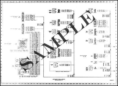 1988 Chevy/GMC P4 and P6 Wiring Diagram Original Motorhome and Forward Control Stepvan Chassis