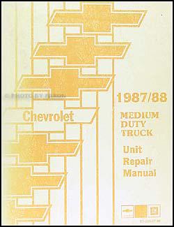 1988    Chevrolet    and GMC Medium Duty C50 C60    C70       Wiring       Diagram    Original C5000 C6000 C7000