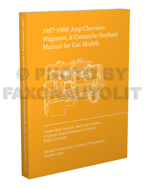 1987 88JeepCherokeeComancheROHp3D 1987 jeep cherokee & wagoneer original wiring diagram schematic 1978 jeep wagoneer wiring diagram at n-0.co