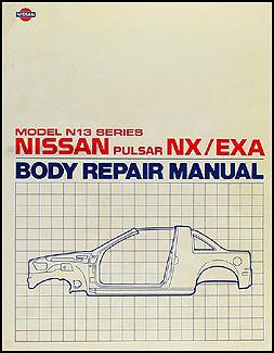 1987    Nissan       Pulsar       NX       Repair    Shop Manual Original