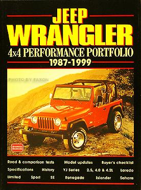 Jeep Wrangler 4x4 Performance Portfolio 1987 -1999