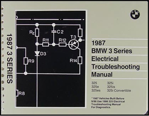 1987 bmw 3 series electrical troubleshooting manual. Black Bedroom Furniture Sets. Home Design Ideas