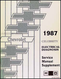1987ChevCelebrityElectrical 1987 chevy celebrity electrical diagnosis manual original Chevy HEI Distributor Wiring Diagram at soozxer.org