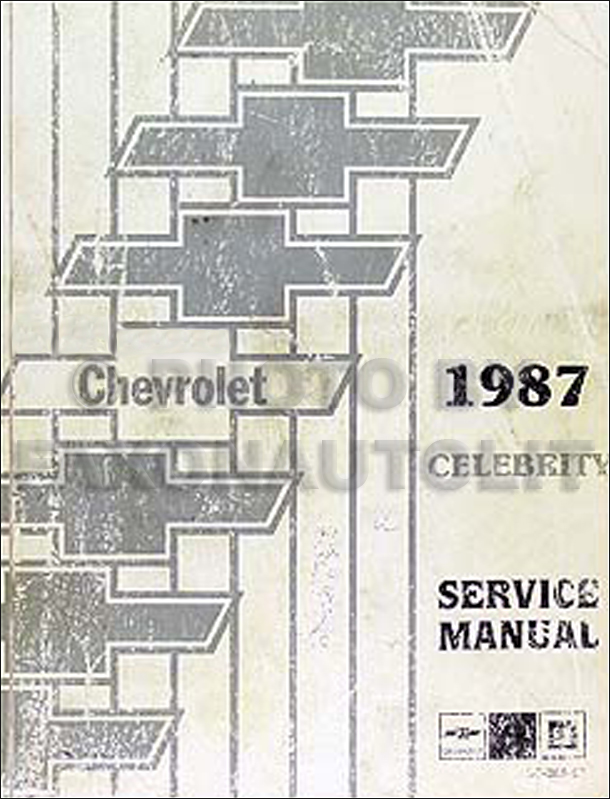 1987ChevroletCelebrityORM 1987 chevy celebrity electrical diagnosis manual original Chevy HEI Distributor Wiring Diagram at soozxer.org