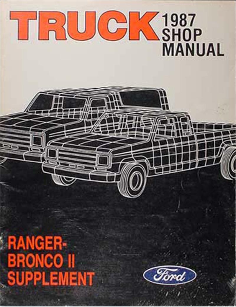 1987 Ford Ranger Vacuum Diagram
