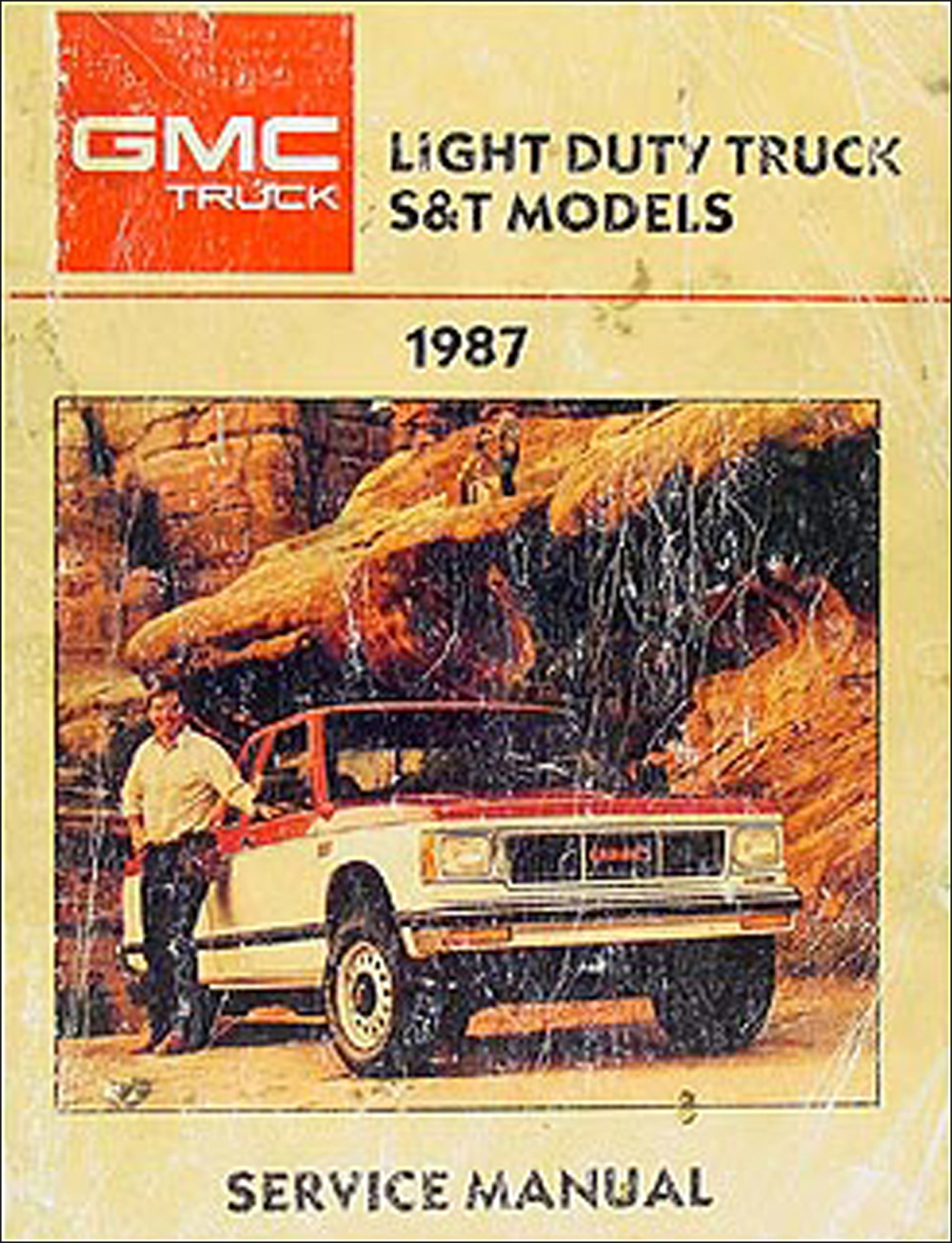 1987 Gmc 1  2  3  4   U0026 1 Ton Truck Overhaul Manual Original