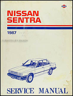 1987 nissan sentra shop manual free owners manual u2022 rh wordworksbysea com 1995 Sentra 1991 Sentra