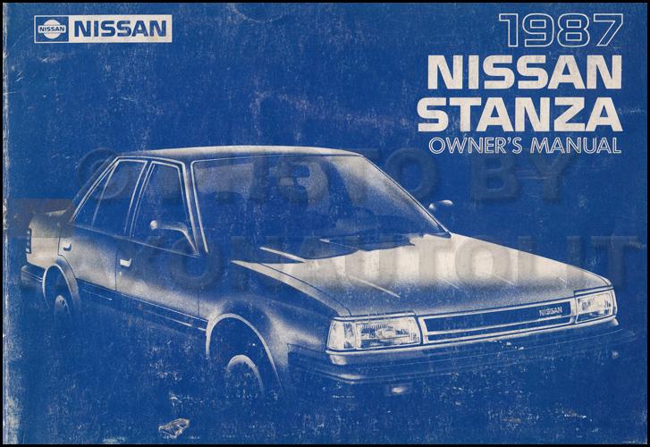 wiring diagram 1987 nissan stanza  wiring  get free image