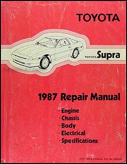 1987ToyotaSupraORM 1987 toyota supra wiring diagram manual original 1987 toyota supra wiring diagram at crackthecode.co