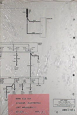 1988 Jeep Wrangler Wiring Diagram http://www.faxonautoliterature.com/1987-1988-jeep-wrangler-overhaul-manual-reprint-p16610.aspx