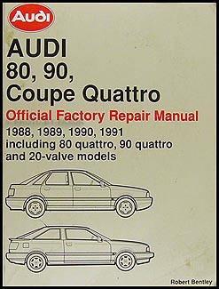 1988 1991 audi 80 and 90 bentley repair shop manual rh faxonautoliterature com
