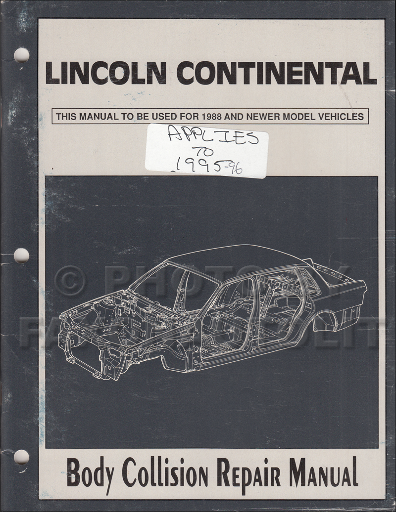 1994 lincoln continental electrical and vacuum troubleshooting manual. Black Bedroom Furniture Sets. Home Design Ideas